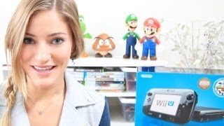 Wii U unboxing! 32GB Black Deluxe Set Console