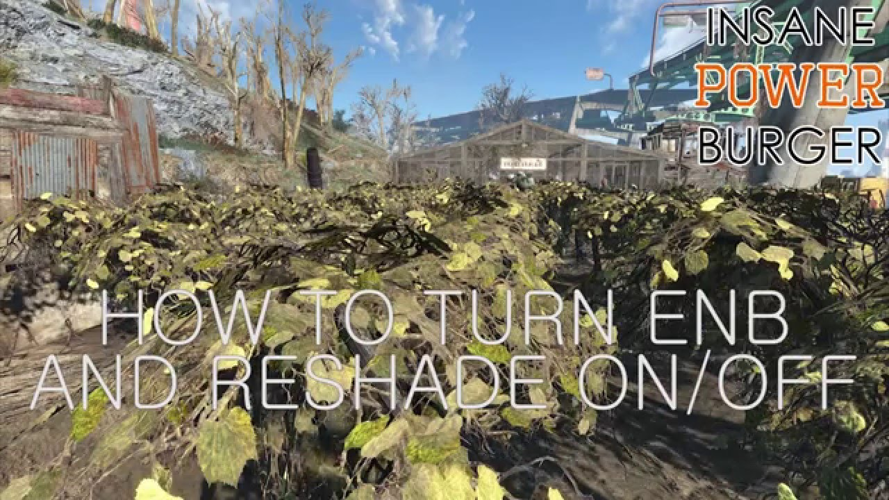 How to Turn ENB and ReShade On/Off (Fallout 4)