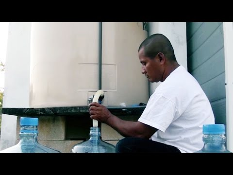 Using solar power to purify water