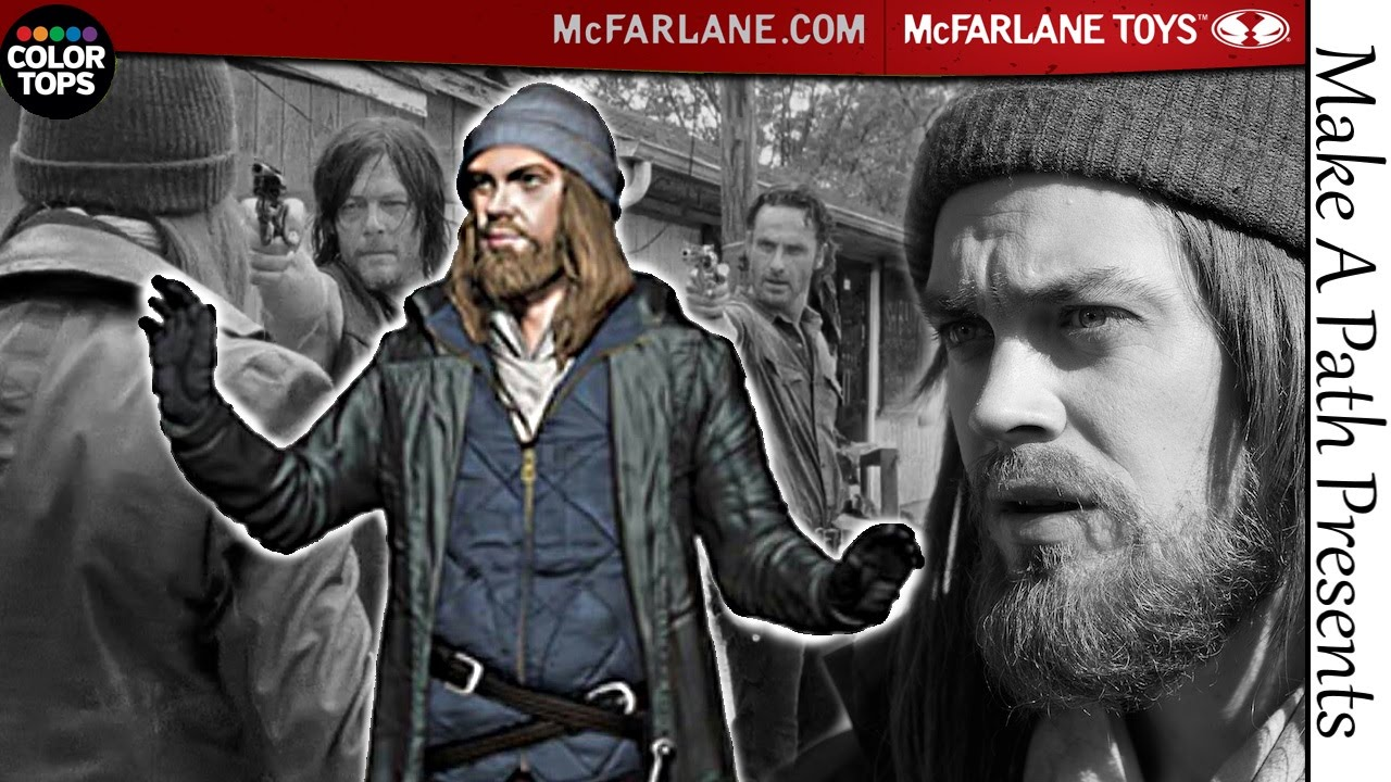 IS JESUS NEXT?! McFarlane Toys Color Tops Blue Wave 7in Figure ...