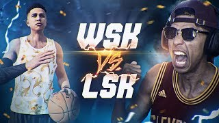 WSK vs. LSK PLAYING AGAINST MYSELF! NBA Live 18 Gameplay