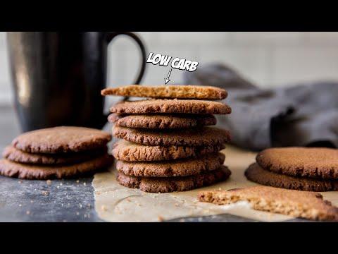 How to Make Keto GINGER Cookies | Very Easy Sugar-Free Recipe