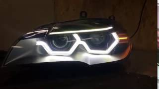 Iconic lights system for BMW e70/71