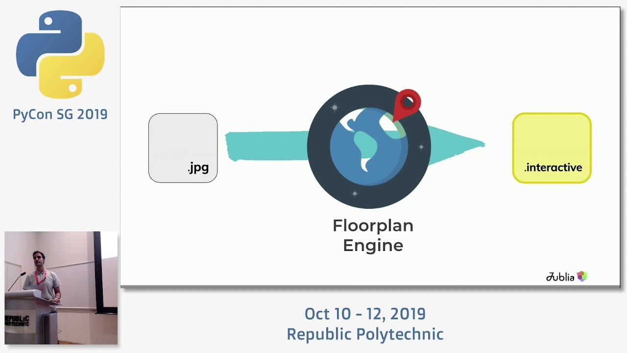 Image from Converting a Static Map image to an Interactive Floorplan - PyCon SG 2019