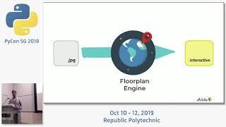 Converting a Static Map image to an Interactive Floorplan - PyCon SG 2019
