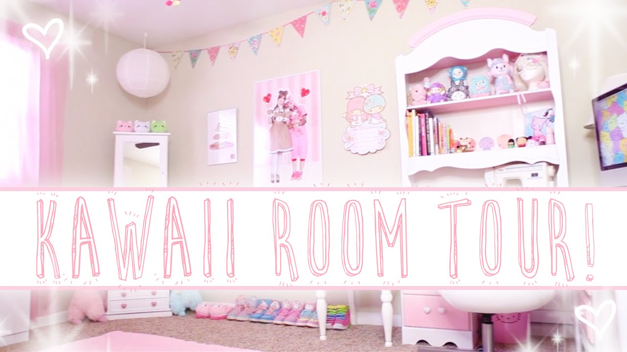 Cuartos Kawaii: ALEXA'S KAWAII ROOM TOUR