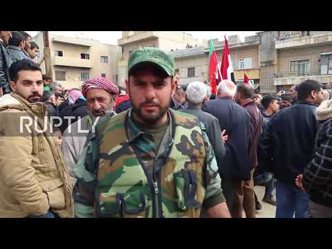 Syria: \'They came to protect us!\' - Afrin welcomes Syrian govt. forces
