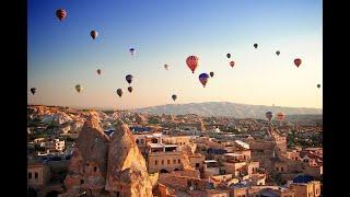 Каппадокия в Турции - райский полёт на воздушном шаре