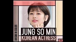 JUNG SO MIN KOREAN DRAMA SERIES AND MOVIES