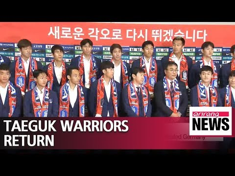 Team Korea arrive home after rollercoaster World Cup campaign