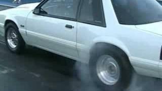 8 sec street car (twin turbo mustang)