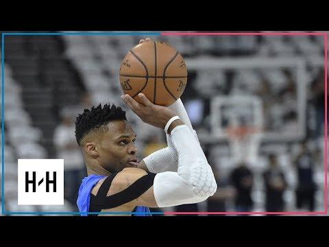 Oklahoma City Thunder vs Utah Jazz - Game 4 - Highlights | April 23, 2018 | 2018 NBA Playoffs