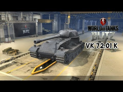VK 72.01 K - World Of Tanks Blitz