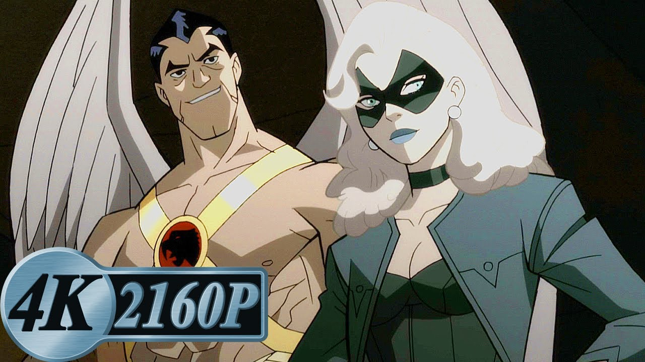 Black Canary and Hawkman Moments at A Glance | Justice Society: World War II