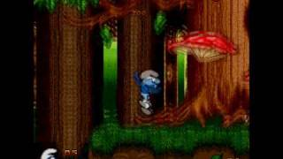 Genesis: The Smurfs - Genesis játék