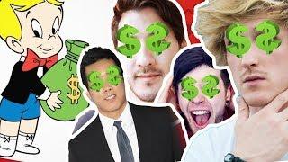 Dünyanın en zengin Youtuber'ları! - YouTube ne kadar kazanıyor da bu kadar para saçıyor?