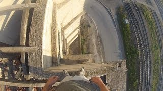 GoPro HD HERO2  Parkour  - Mirrors Edge in Real Life