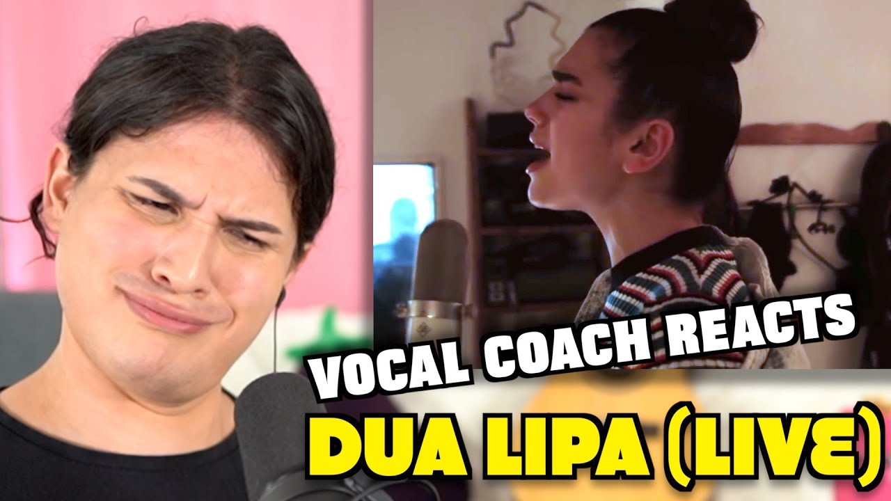 Vocal Coach Reacts to Dua Lipa - Rather Go Blind