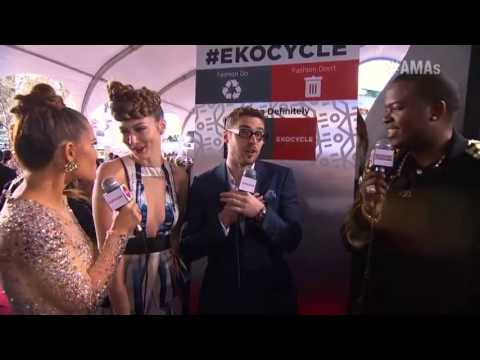 Karmin Red Carpet Interview  - Coca Cola Red Carpet LIVE!@ the 2012 AMAs