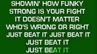 Beat it Karaoke Instrumental.wmv