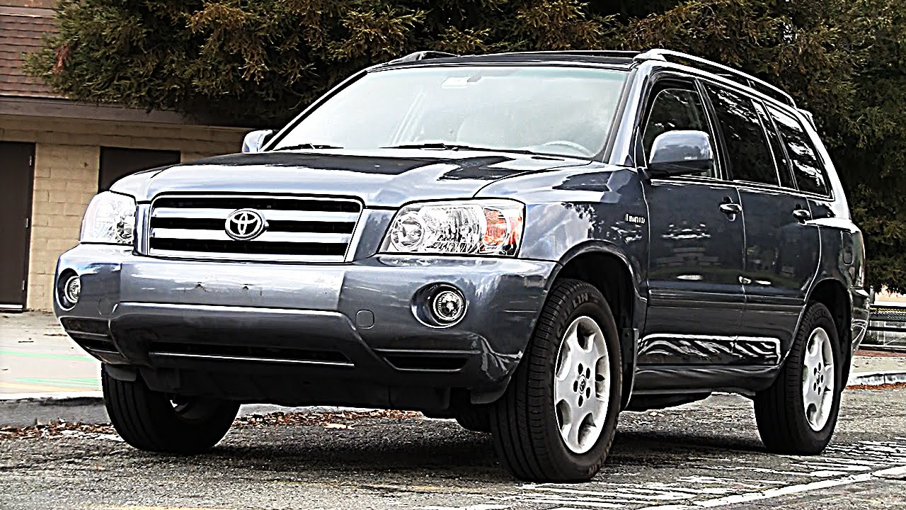 2005 Toyota Highlander 4wd Pov Test Drive Amp Review