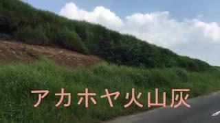 大観峰ジオサイト「アカホヤ火山灰」