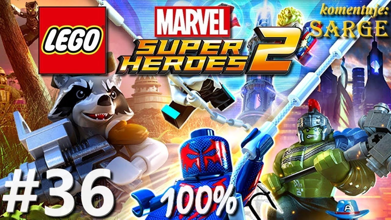 Zagrajmy w LEGO Marvel Super Heroes 2 (100%) odc. 36 – Bagno Man-Thinga 100%