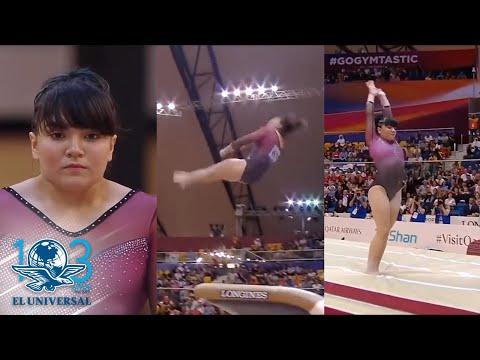 Alexa Moreno disputará la Final de Copa del Mundo de Gimnasia
