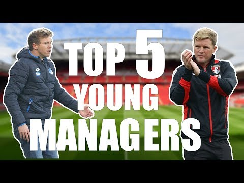 Top 5 Young Managers in World Football