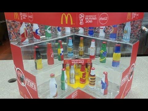 McDonald's Mini Mundialistas Rusia 2018 Promoción Coca Cola (Mayo/Junio 2018)