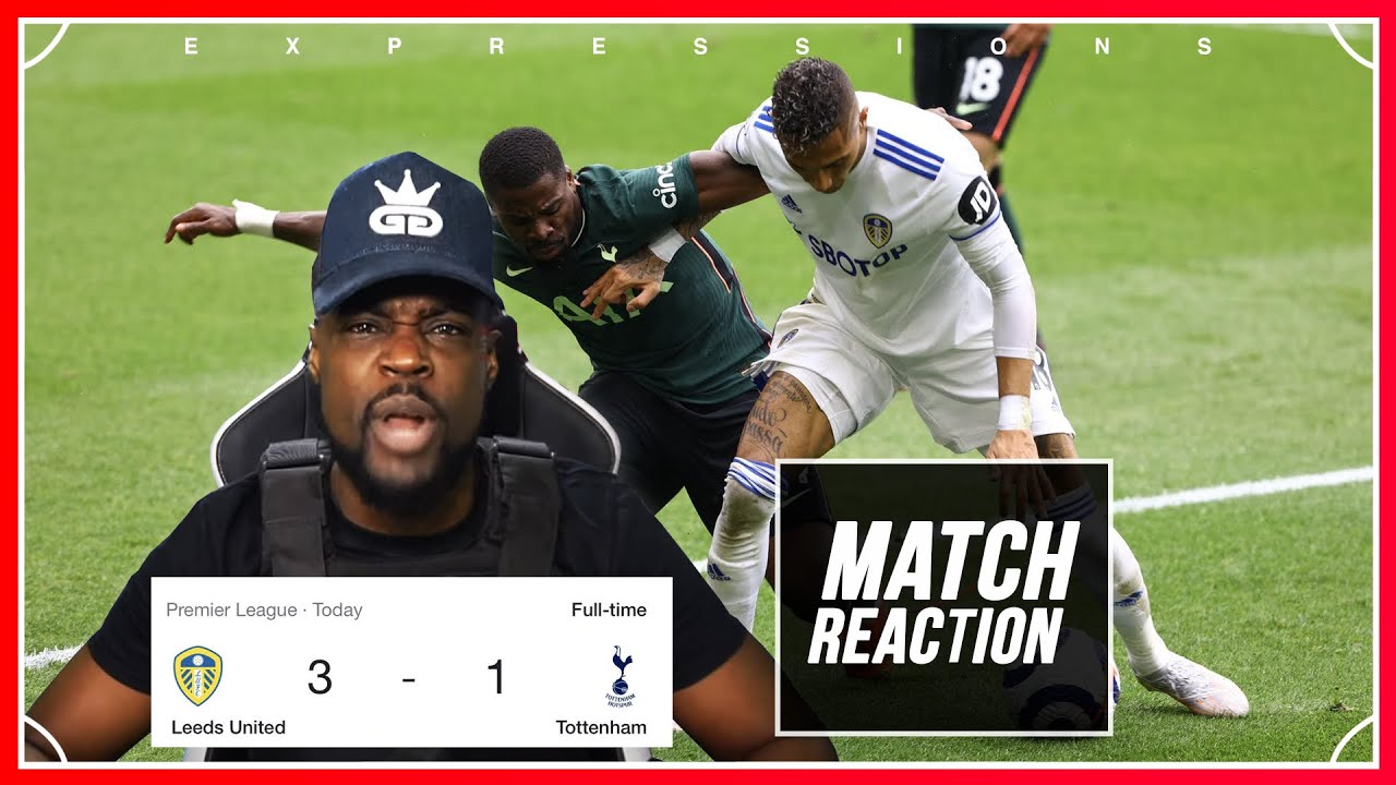 I NEVER THOUGHT THE SEASON COULD GET ANY WORSE!!! 🤬 Leeds (3) vs Tottenham (1) EXPRESSIONS REACTS