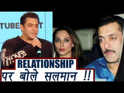 Salman Khan CONFIRMS He Is In Relationship | FilmiBeat