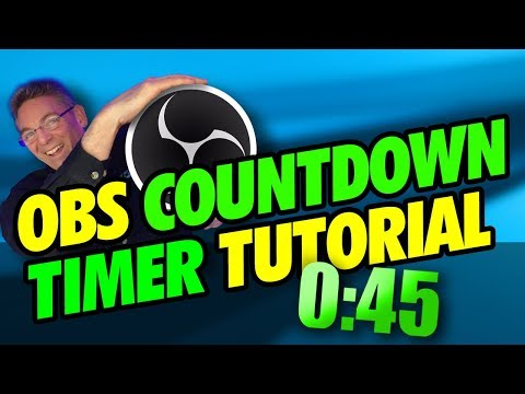 OBS Countdown Timer