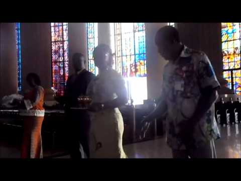 Yamoussoukro 2012 - Ceremony at the Basilica of Our Lady of Peace