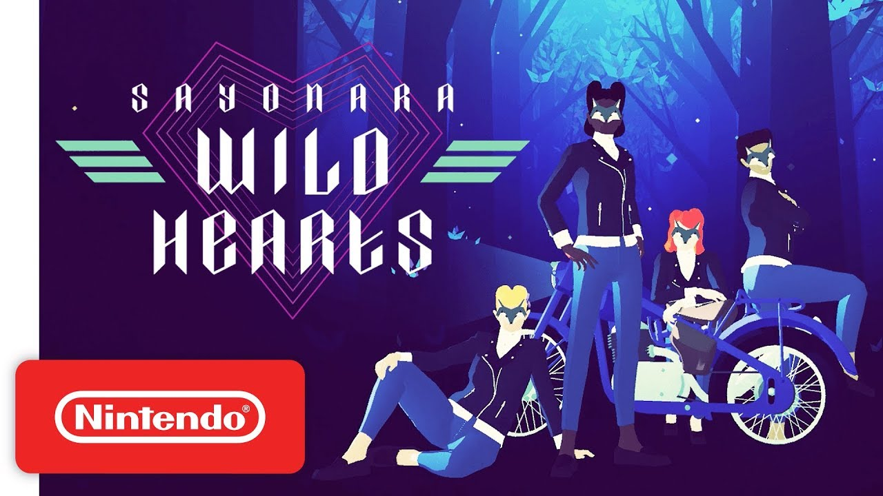 Sayonara Wild Hearts - Reveal Trailer - Nintendo Switch - YouTube