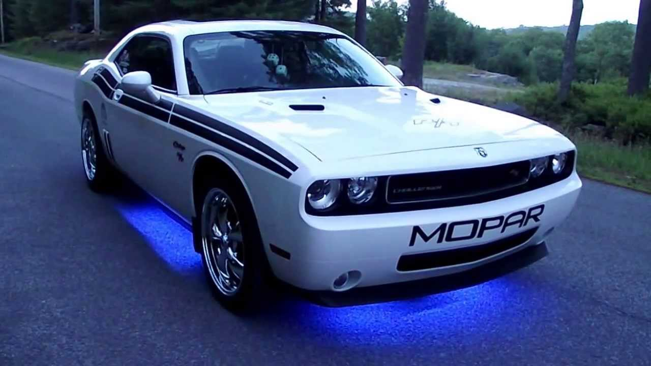 2010 Dodge Challenger R T Classic With Underglow Lights