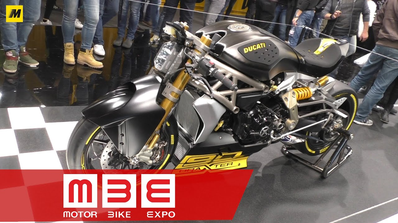 Motor Bike Expo 2016 Ducati XDiavel draXter - YouTube