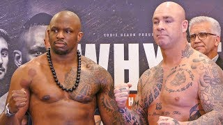 Dillian Whyte vs Lucas Browne WEIGH IN & FINAL FACE OFF | WBC Silver Heavyweight Title