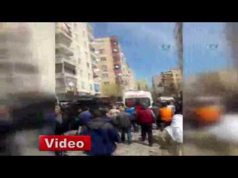 Diyarbakırda şiddetli patlama