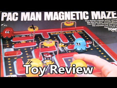Tomy Pac Man Magnetic Maze Board Game Review - The No Swear Gamer Ep 201