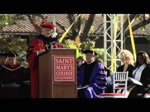 Saint Mary's Presidential Inauguration 2013