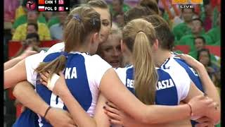 WGP 2009 Women's volleyball China - Poland part 3/5