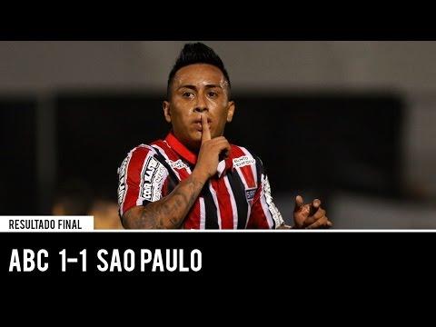 ABC 1 x 1 São Paulo - MELHORES MOMENTOS - Copa do Brasil 15/03/2017