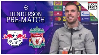 Jordan Henderson Reacts to Jurgen Klopp Exit Rumours | Press Conference | RB Leipzig vs Liverpool