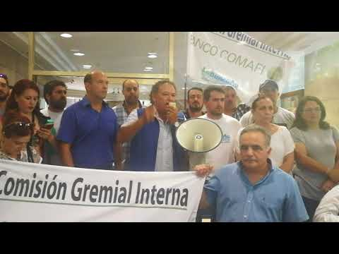 Intervención del Cro Jorge Leiva  en Asamblea en el Banco Comafi 02 02 18