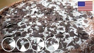 MOUSSE AU CHOCOLAT TART (gluten-free recipe)