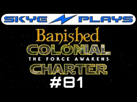 Banished Colonial Charter 1.6 #81 ►The 'Udder' Side of Town!◀ Let's Play/Gameplay