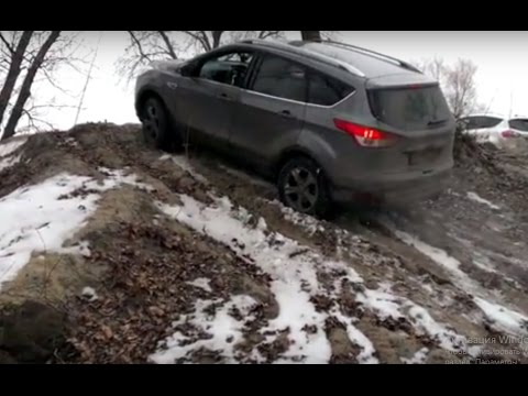 Ford Kuga Vs Kia Sportage 2016 Off Road Awd Test Drive Youtube