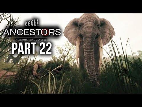 ANCESTORS THE HUMANKIND ODYSSEY Gameplay Walkthrough Part 22 - ELEPHANT / EAGLE / OTTER