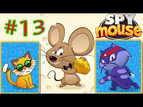воришка мышка spy mouse мышка как воришка боб играем в мультяшную игру 13 новая серия